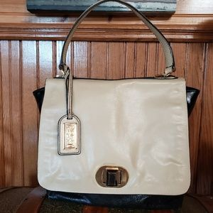 Leather Badgley Mischka bag
